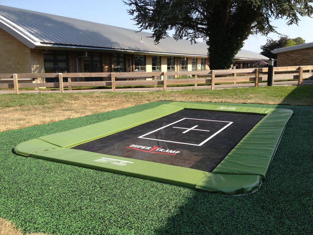 in ground trampoline sunken trampoline rebound therapy trampoline