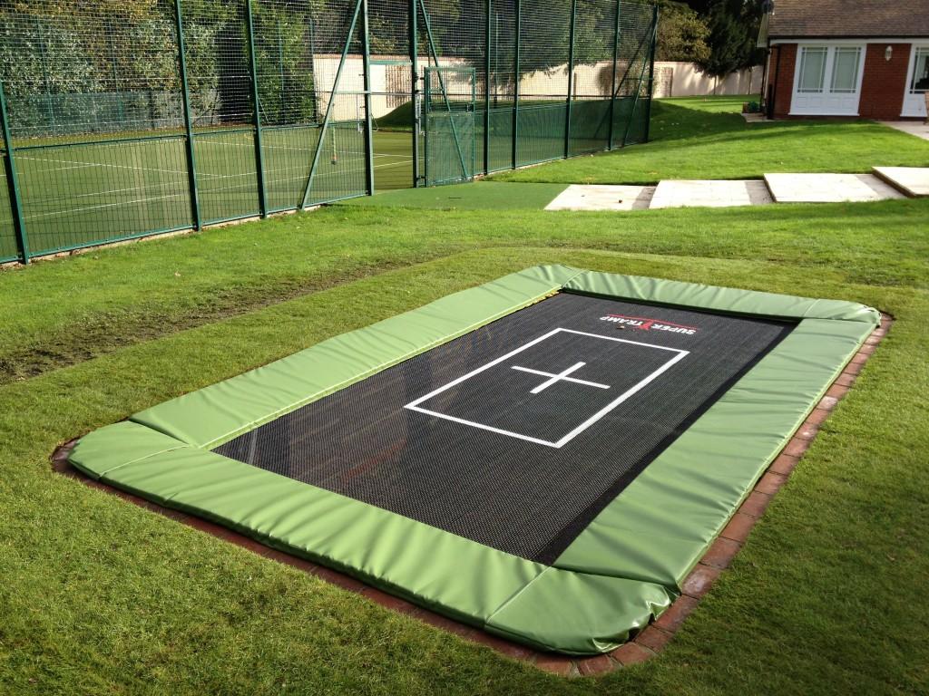 Sunken Trampoline sunken trampoline in ground trampoline