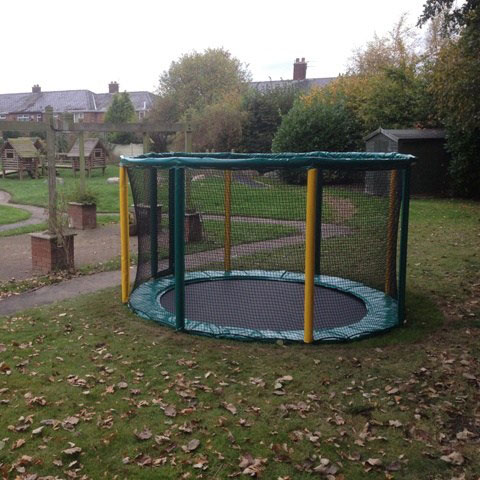 playground trampoline sunken trampoline in ground trampoline