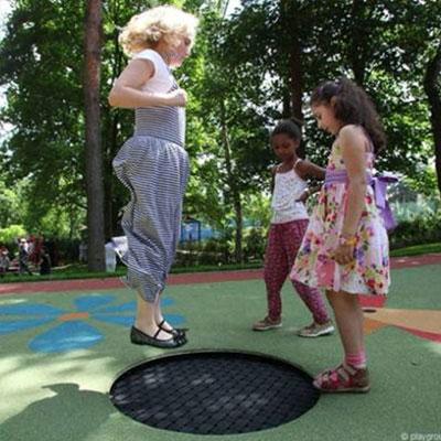 playgound-loop-trampoline2 sunken trampoline in ground trampoline