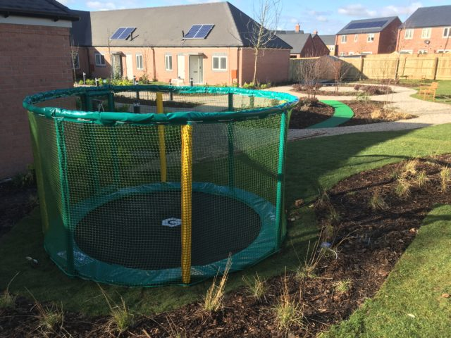 rebound therapy trampoline in ground trampoline sunken trampoline