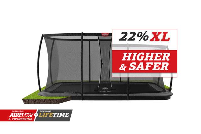 BERG-Ultim-Champion-FlatGround-410-Grey-+-Safety-Net-DLX-XL-+22-right
